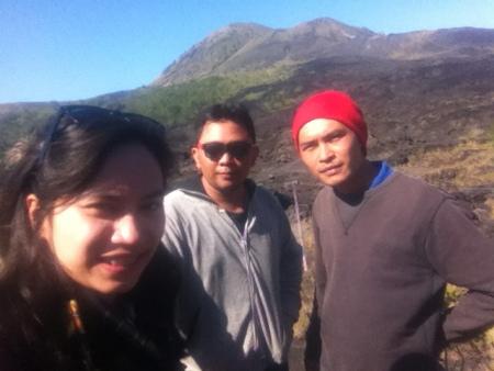 foto diambil dari atas bukit